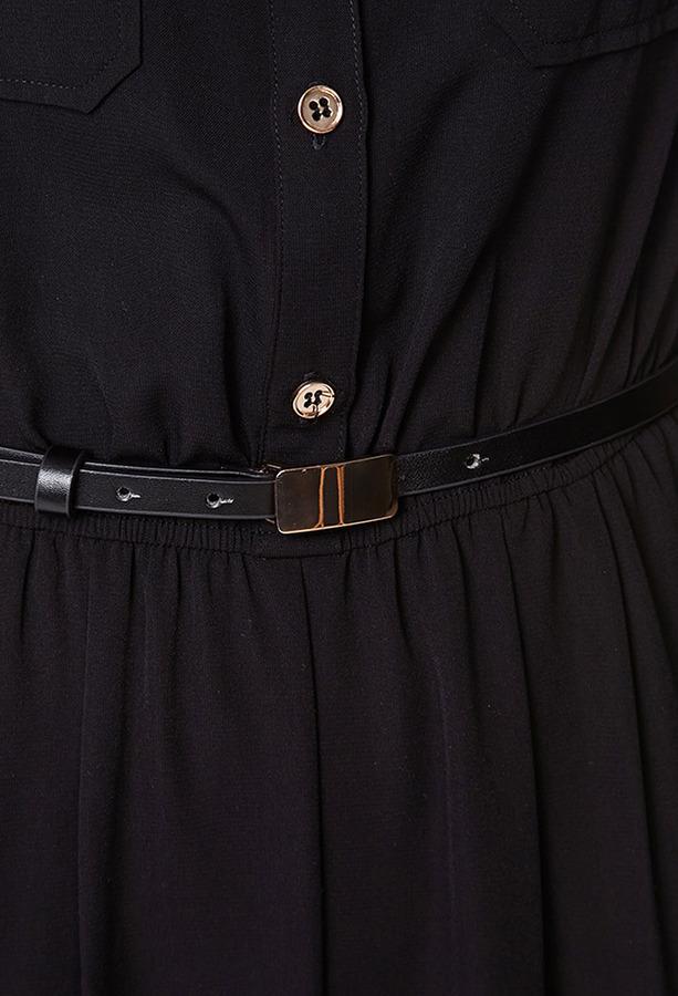 LOVE21 LOVE 21 Woven Jumpsuit w/ Belt