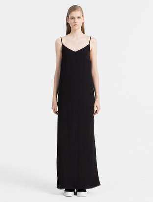 Calvin Klein maxi slip dress