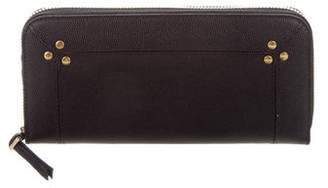 Jerome Dreyfuss Leather Continental Wallet