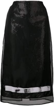 Brognano sequin embellished pencil skirt