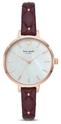 Kate Spade Metro Mother-of-Pearl Watch, 34mm