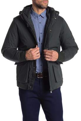 Scotch & Soda Hooded Mid Length Jacket