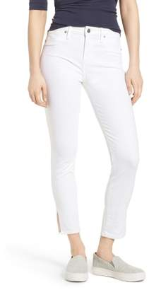 Lucky Brand Ava Skinny White Jeans