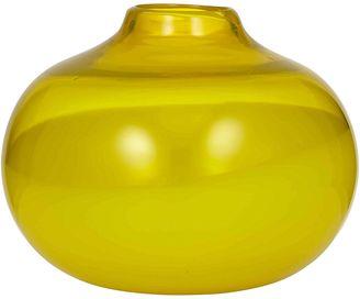 Amalfi by Rangoni Saffron Curvy Vase, 19x25cm