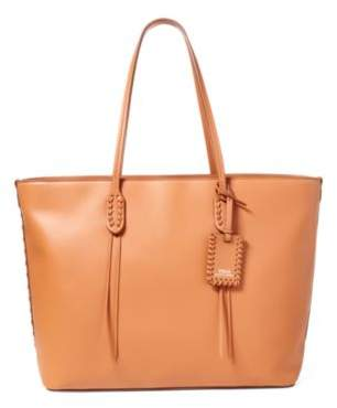 Ralph Lauren Leather Tote Tan One Size