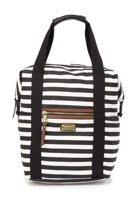 Madden-Girl Striped Canvas Backpack