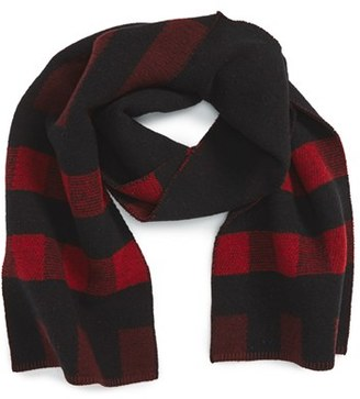 Burberry Mega Wool & Cashmere Blanket Scarf $375 thestylecure.com