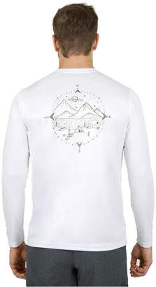 Mountain and Isles Sun Protection Long Sleeve Compass Camp T Shirt