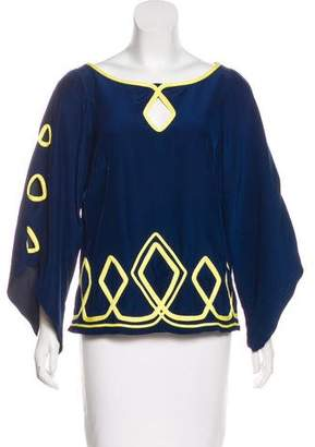 Alice & Trixie Silk Embellished Top