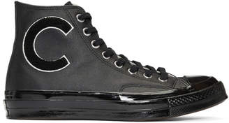Converse Black Wordmark Wool Chuck Taylor All-Star 70 Hi Sneakers