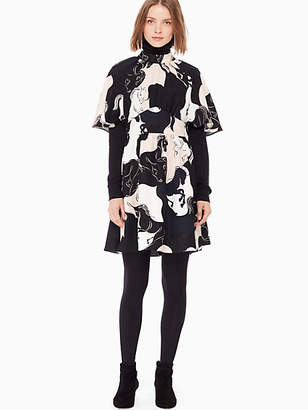 Kate Spade Stallions crepe dress