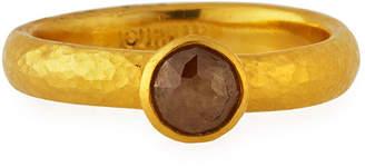 Gurhan One-of-a-Kind 24k Fancy Diamond Ring, 0.75tcw
