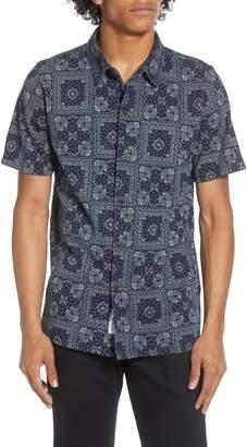 NATIVE YOUTH Kata Short Sleeve Button-Up Shirt
