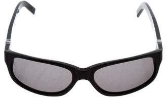 Montblanc Oval Tinted Sunglasses