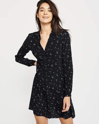 Abercrombie & Fitch Flowy Shirtdress