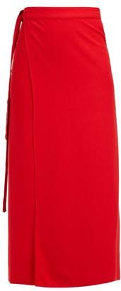 Haight - Tie Waist Sarong Skirt - Womens - Red