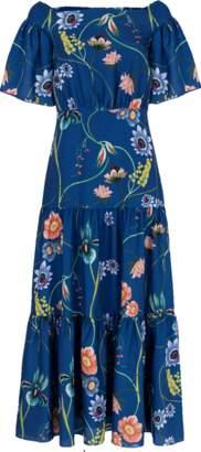 BORGO DE NOR Emelia Off Shoulder Vintage Flower Dress