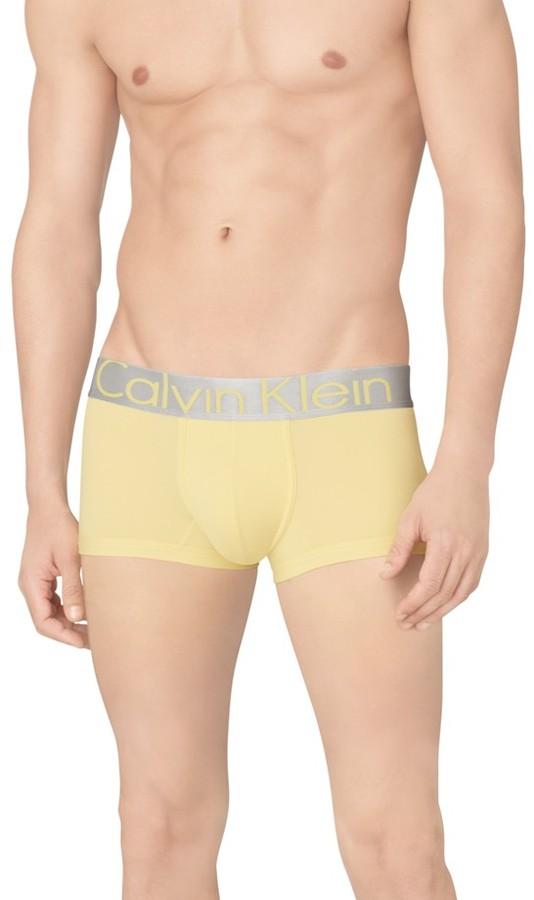Calvin Klein Underwear Calvin Klein 'Steel - U2716' Microfiber Low Rise Trunks