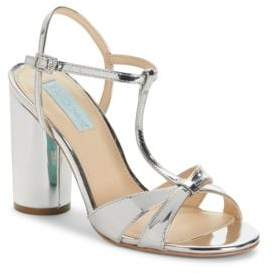 Betsey Johnson Luisa High Heel T-Strap Sandals