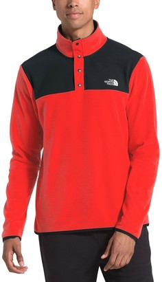 The North Face TKA Glacier Snap-Neck Fleece Pullover - Men's