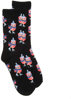 K. Bell Skating Owl Crew Socks - Women's