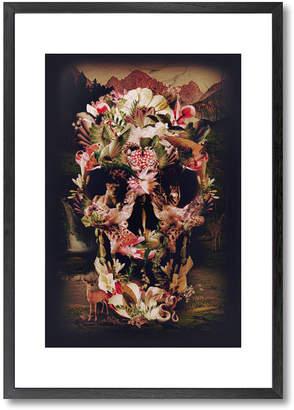 Jungle Skull Print