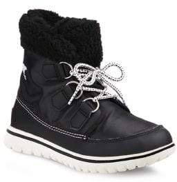 Sorel Cozy Carnival Nylon and Fleece Boots