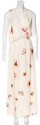 Haute Hippie Silk Maxi Dress