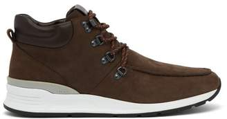 Tod's Suede Ankle Boots - Mens - Brown