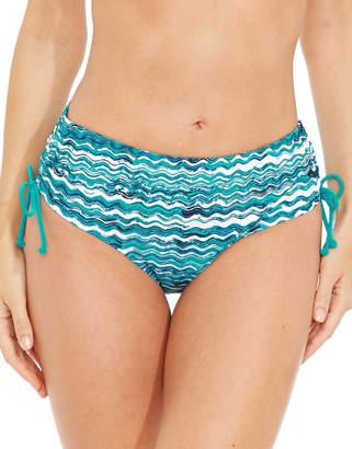 Figleaves swimwear Blue Wave Adjustable Brief