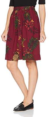 PepaLoves Women's Alison Print Casual Skirt,8 (Manufacturer's Size:X-Small)