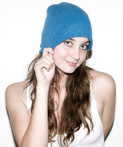 Unisex Recycled Cotton-Acrylic Blend Beanie