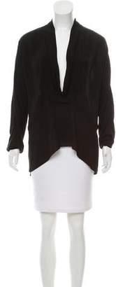 Thakoon Oversize Long Sleeve Top