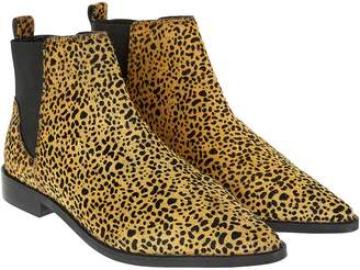 3acc1c12a8a6 Next Womens Accessorize Leopard Print Ankle Boot