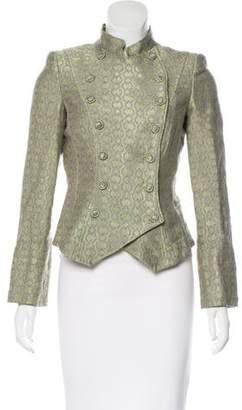 Armani Collezioni Brocade Wool Jacket