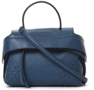 Tod's Mini Wave Leather Tote Bag