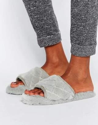 Asos DESIGN NITA Quilted Loungewear Slippers