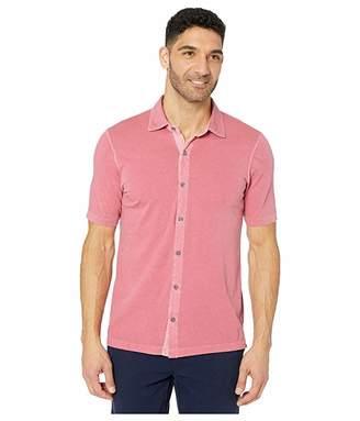 Mod-o-doc Dana Point Short Sleeve Button Front Shirt