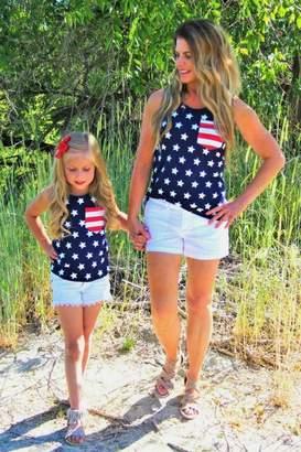 Lady's World Mini Stars & Stripes