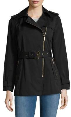MICHAEL Michael Kors Long Sleeve Trench Coat
