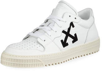 Off-White Men's 3.0 Polo Mid-Top Leather Sneakers