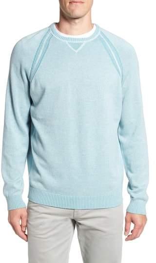 Tommy Bahama Sun Up Sun Down Flip Crewneck Sweater