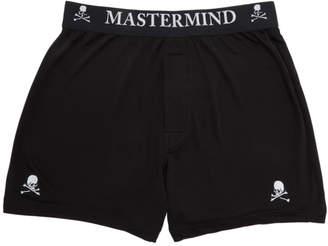 14c778a6c431 Mastermind World mastermind WORLD Two-Pack Black Silk Boxer Briefs