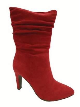 Big Buddha Women's Heeled Slouch Boot