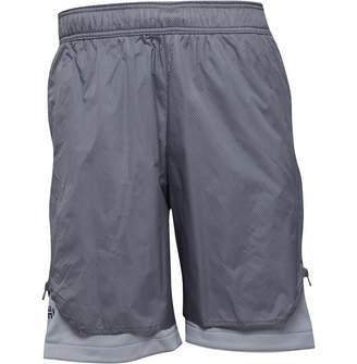 adidas Mens Harden Vol. 1 Playmaker Basketball Shorts Grey Two