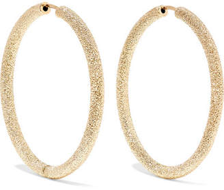 Carolina Bucci Florentine 18-karat Gold Hoop Earrings