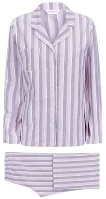 Derek Rose Arran Brushed Cotton Pyjama Set