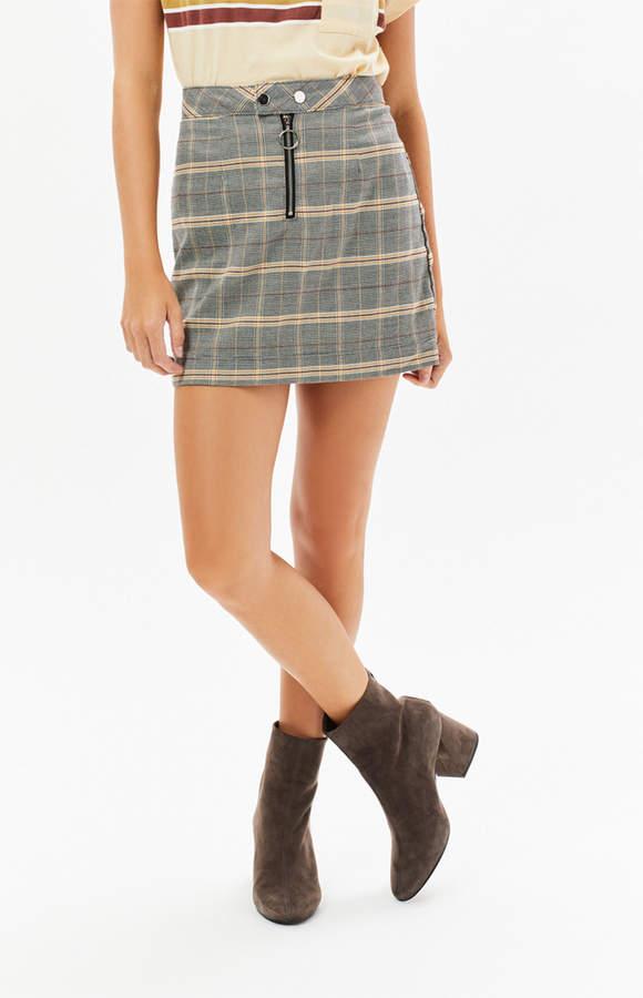 Ps / La Double Snap Zip Skirt