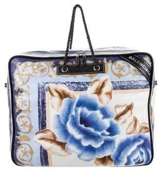 Pre Owned At Therealreal Balenciaga 2017 Xl Blanket Bag