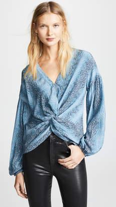 Ramy Brook Printed Averie Top
